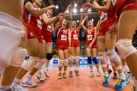 Serbian girls and victory dance