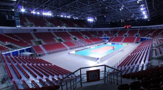 Sneak preview of World League Finals and Olympic Qualification Tournament venue
