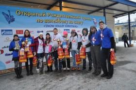 Snow Volleyball tournament celebrates Orthodox Christmas in Saint Petersburg
