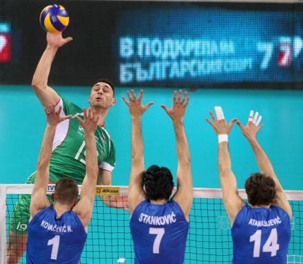 Sokolov against Serbian block