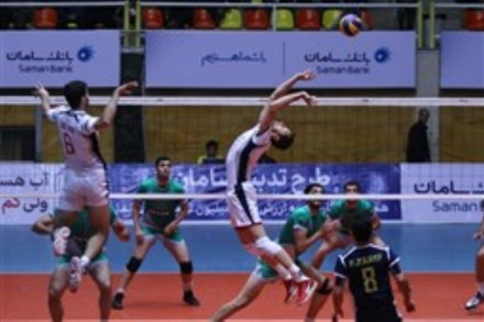 Spike from Bank Sarmayeh Player