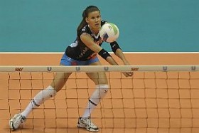 Stacy Sykora is one of the weapons of Vôlei Futuro