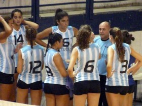 The Argentine women's junior team ready to participate at the ACLAV Argentine A1 women senior league