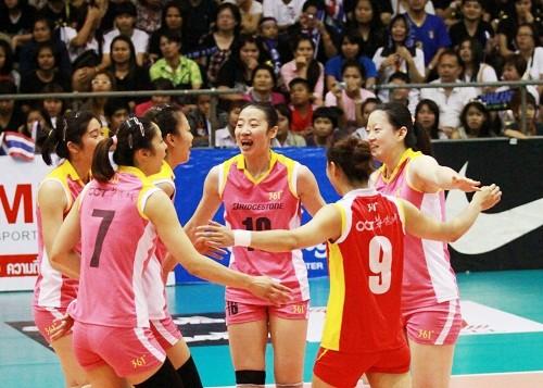 Tianjin-Toray-in-showdown-for-Princess-Cup-in-Asian-Women's-Club-in-Thailand