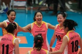 Tianjin and Army play marathon rally in Chinese National League