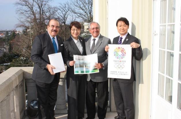 Tokyo-Delegation