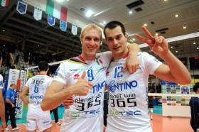 Triple champions down Serbian side to qualify for Playoffs 12