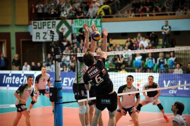 Tytan AZS CZESTOCHOWA claims first round of Polish derby