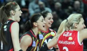Vakıfbank defeaed Ereğli with 3-2