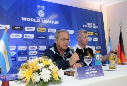 Julio Velasco after second game against Germany