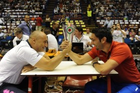 Villa and Bergamo rehearsal of Champions League