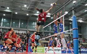 Volero fights bravely but Dinamo cruises past in four sets