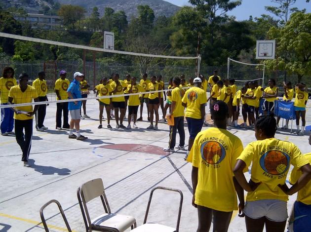 Volleyball helping to rebuild Haiti