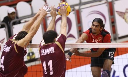 Waleed (Al Rayyan) spikes