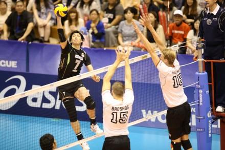 Yu Koshikawa against Germany