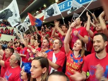 Ajaccio fans