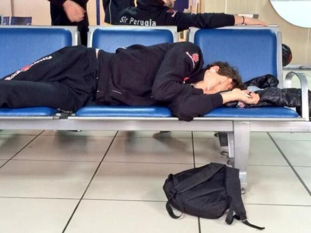 Bata sleeps