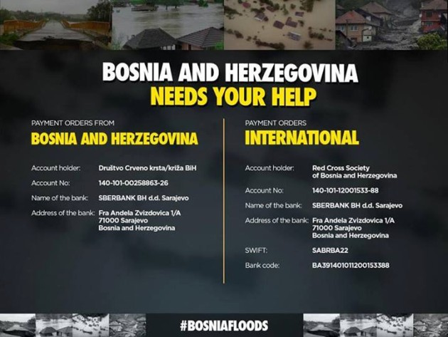 Bosnia needs your help
