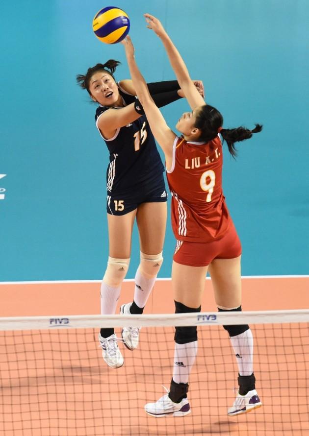 China vs. Belgium 1