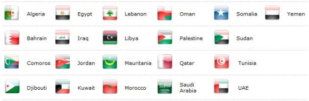 Participating-Countries-Arab-Games