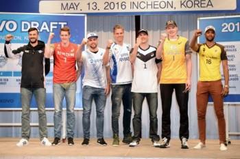 Players chosen by Korean clubs