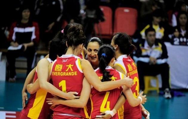 evergrande-volleyball-team