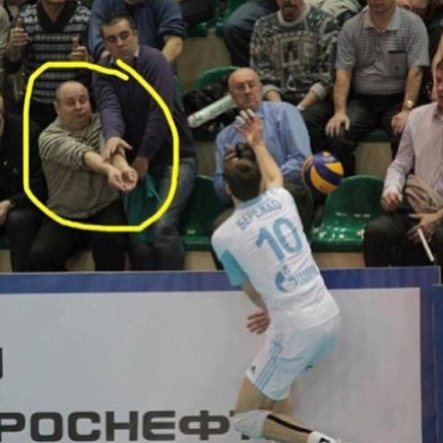 Berezhko and fans