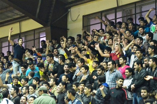 Crowd in Iran
