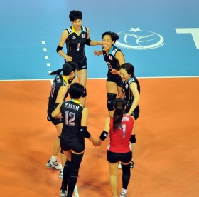 Japan-after scoring the point