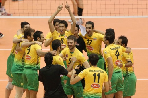 Kaleh from Iran - defending champions