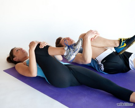 Stretch your lower back
