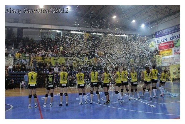 AEK won Greek Championship
