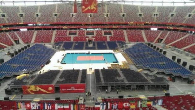 Stadium in Warsaw