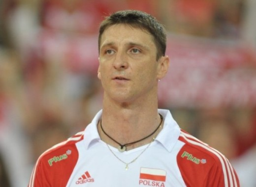 Piotr Gruszka as a member of Polish NT