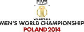 2014 Men's Volleyball World Championship logo