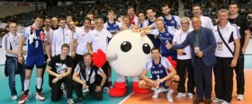 Polish players with bronze medal in London