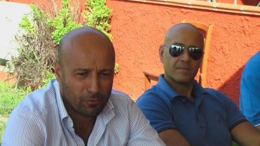 President Falievene and sponsor Paolo Andreoli