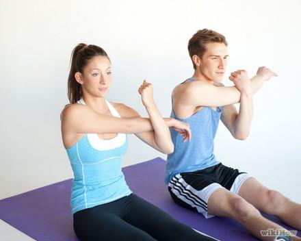 Stretch your shoulder
