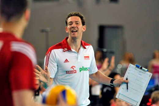 Head coach of Poland, Stephane Antiga