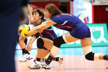 Players of Taiwan's national team