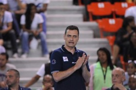 Serbian coach Zoran Terzić