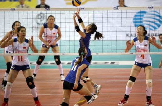 Thai Girls defending champions