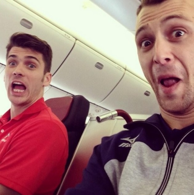 Matt and Paul