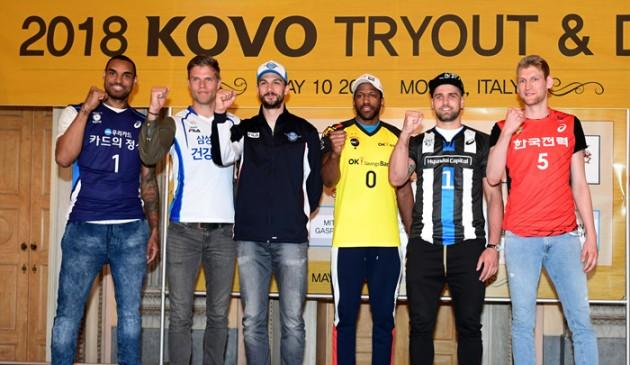 2018-2019 V-League foreigners (Ferreira missing)