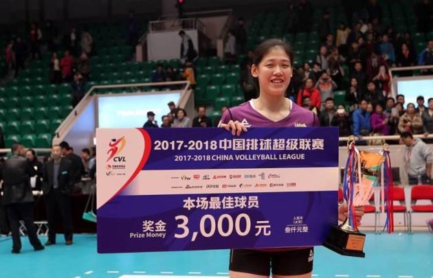 Yingying Li scored 37 points fro Tianjing