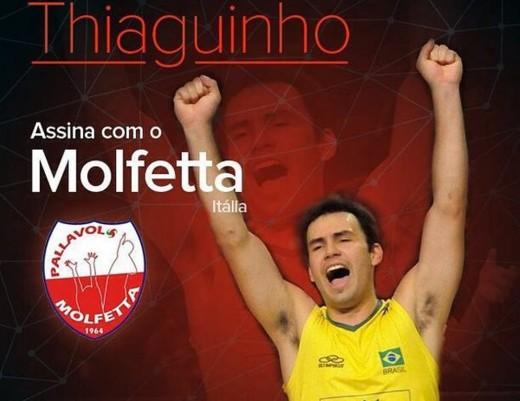 Thiaguinho, volleyball setter