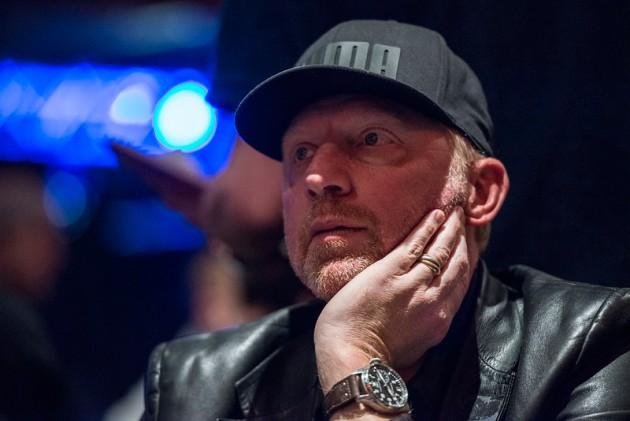 Boris at the poker table