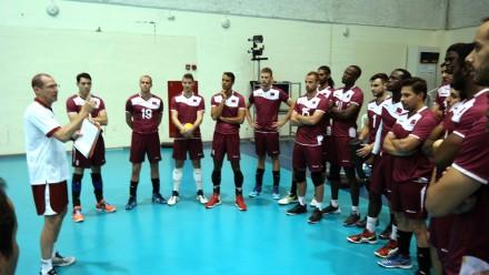 Qatar's volleyball National team