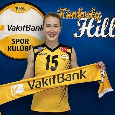 Kimberly Hill in VakifBank