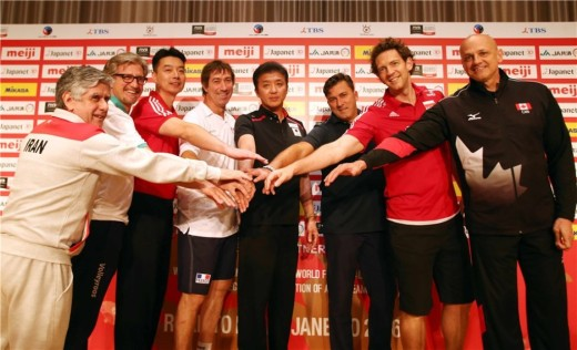 Volleyball coaches in Tokyo